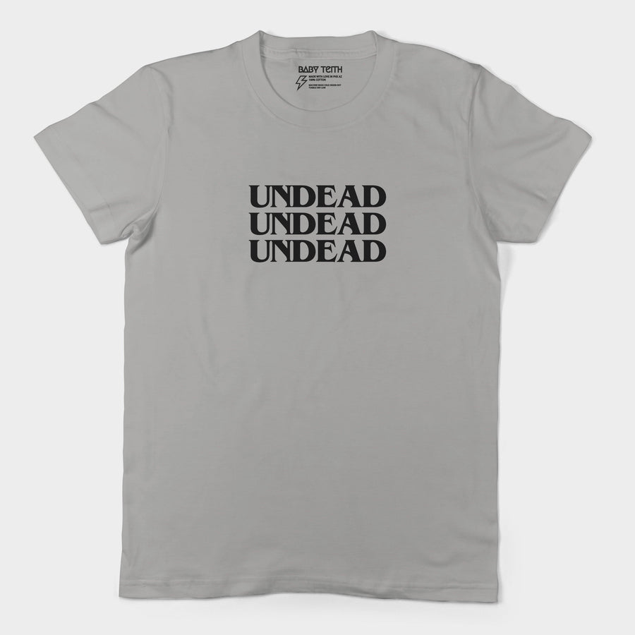 Undead Unisex Tee for Adults (4 Colors)