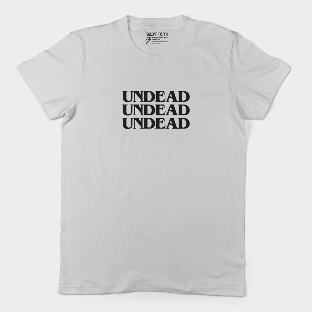 Undead Unisex Tee for Adults (4 Colors) - Baby Teith