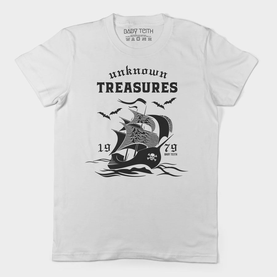 Unknown Treasures Tee for Adults
