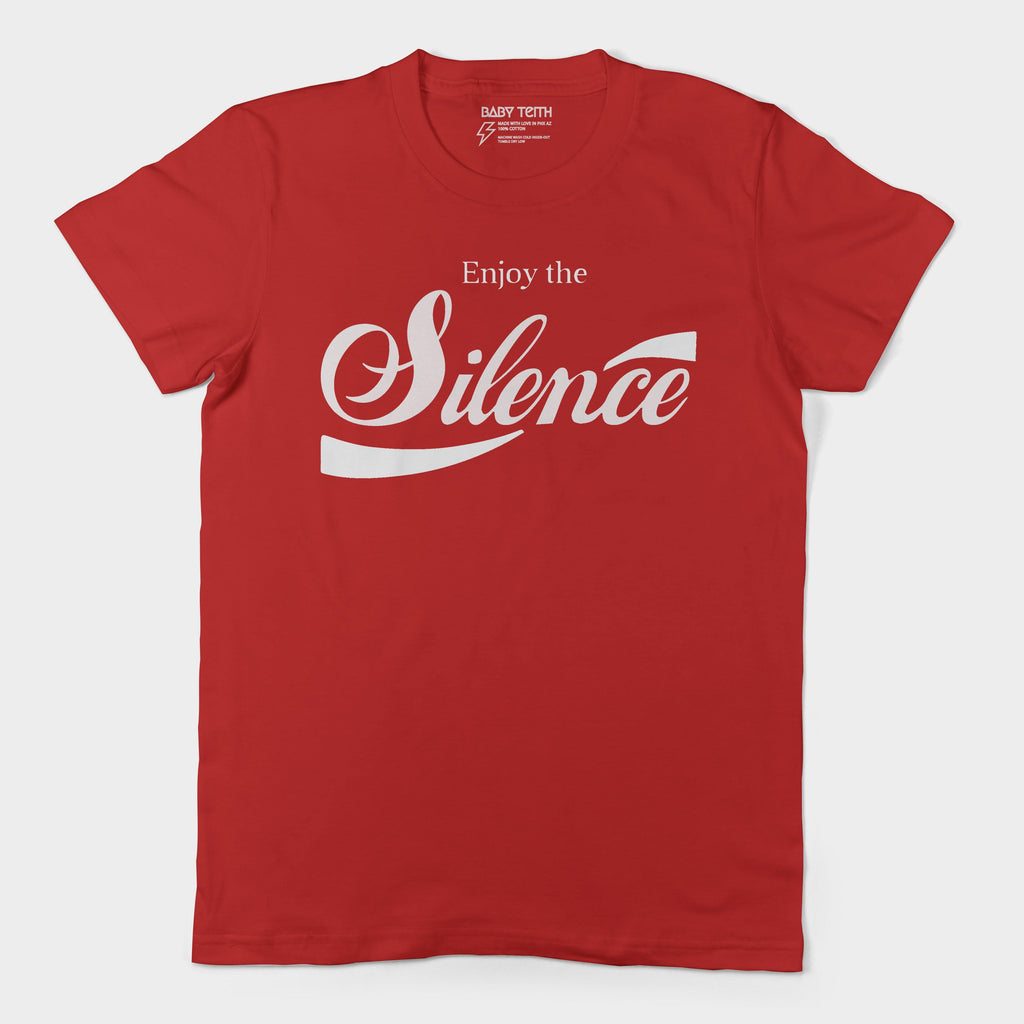 Enjoy the Silence Unisex Tee for Adults (2 Colors)