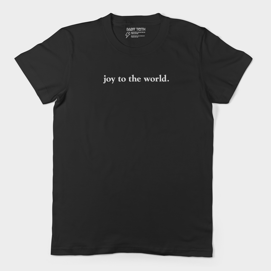 Joy to the World Unisex Adult Tee