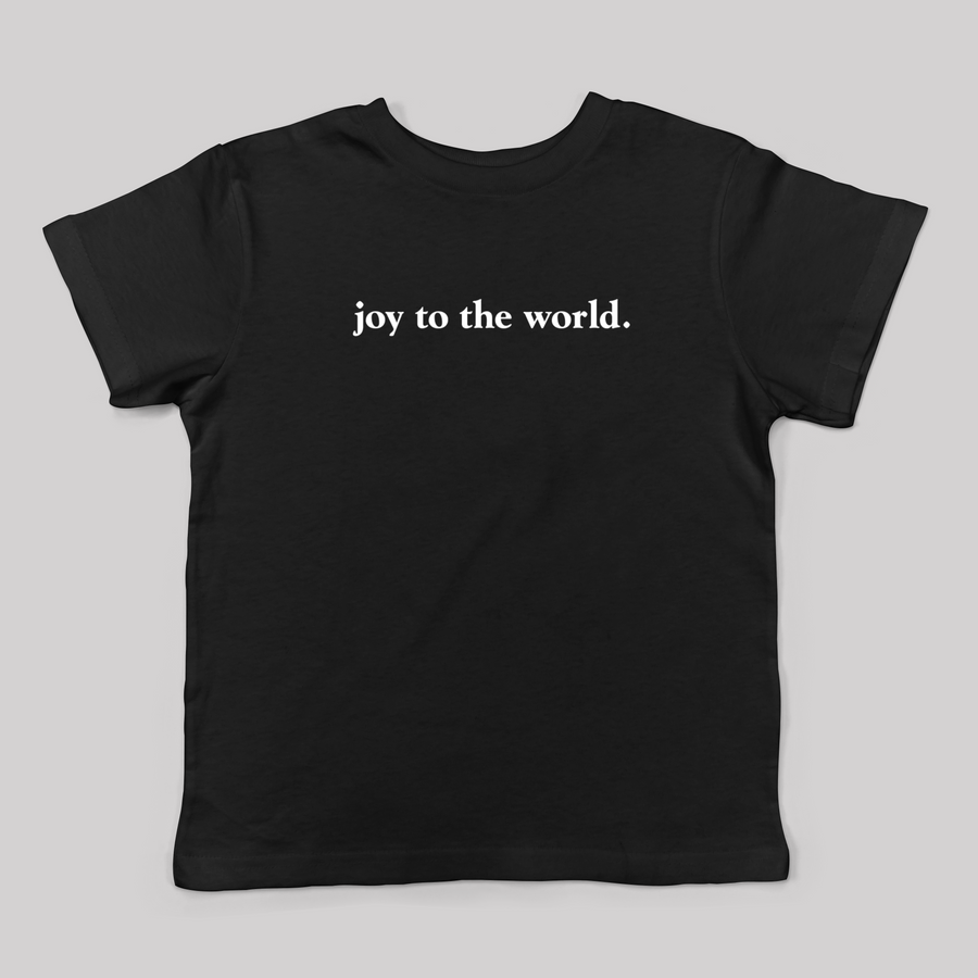 Joy to the World Tee for Kids