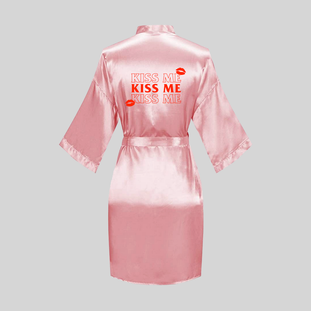 Kiss Me Satin Robe (3 Colors)