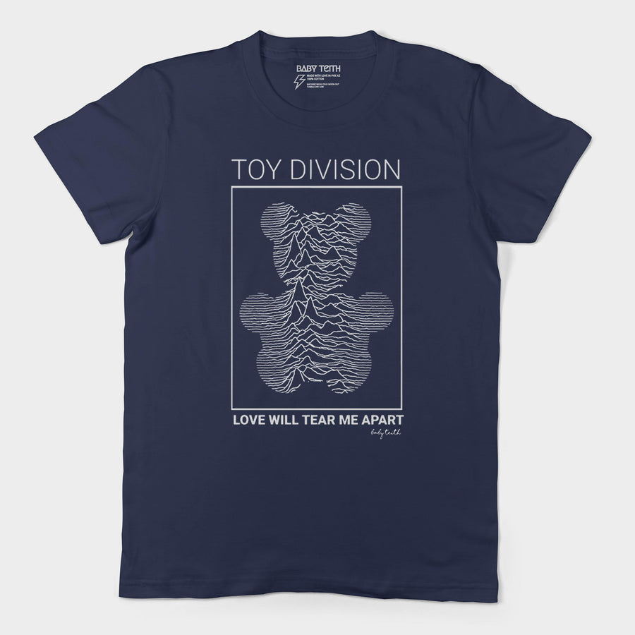 Toy Division Unisex Tee for Adults (3 Colors) - Baby Teith