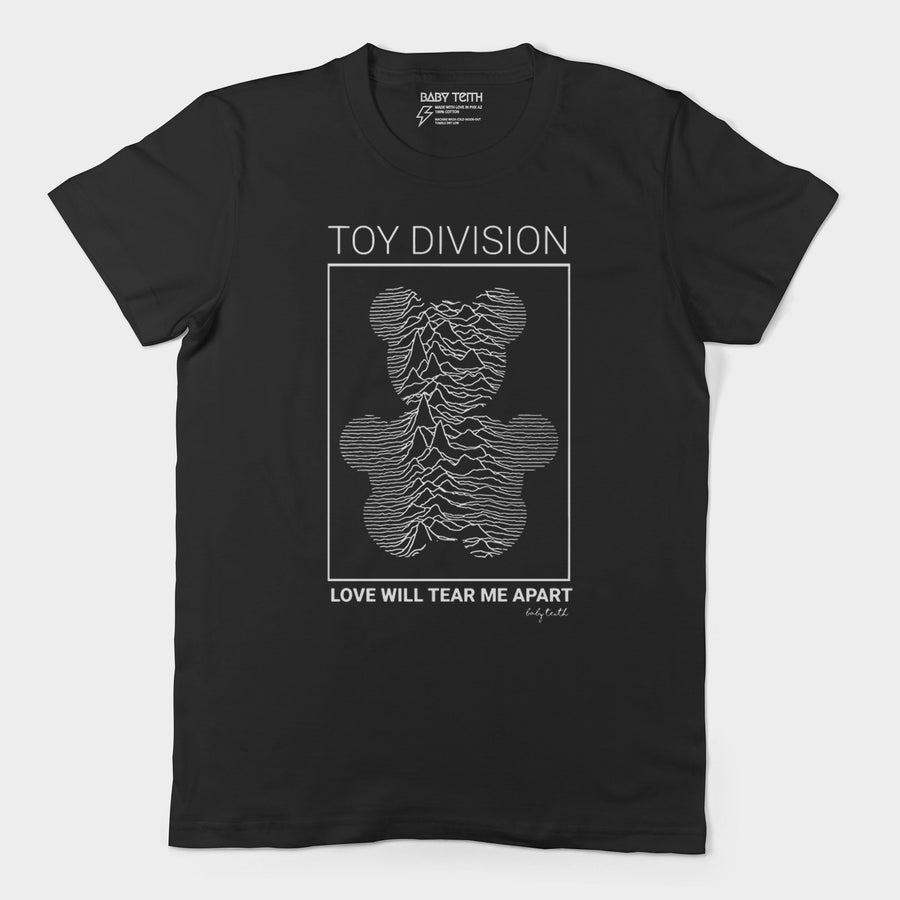 Toy Division Unisex Tee for Adults (3 Colors)