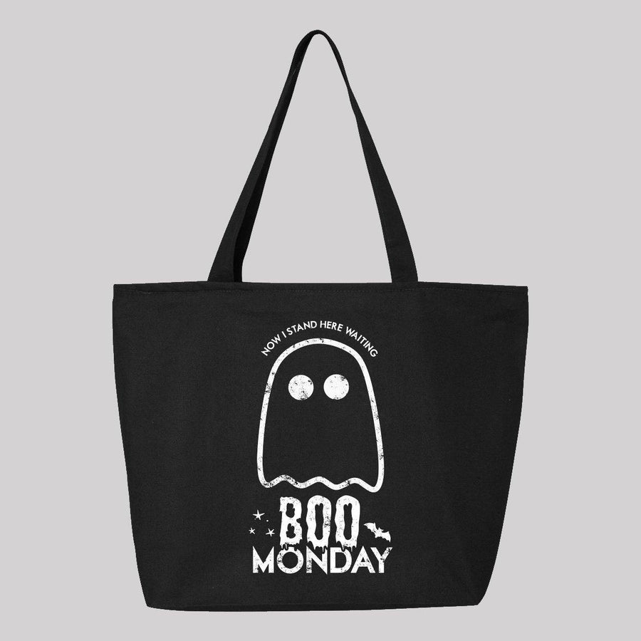 Boo Monday Canvas Tote Bag