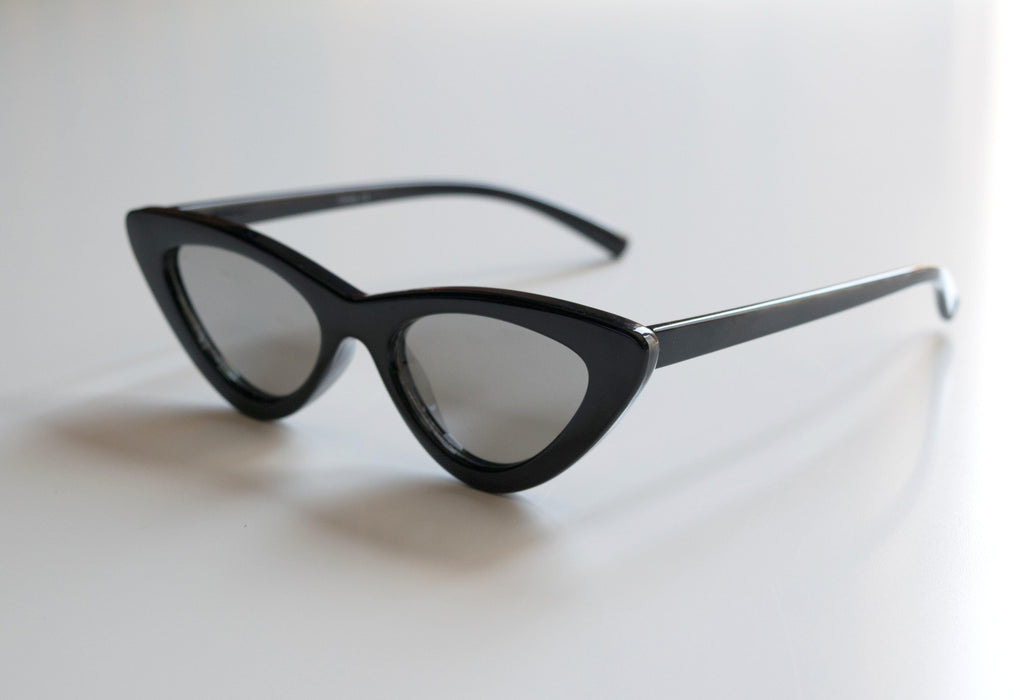 Retro Black Mirrored Sunnies for Kids