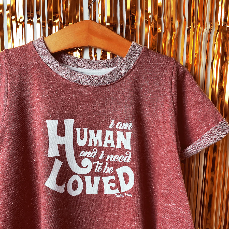 I Am Human Kids Dress (Limited Special Buy)