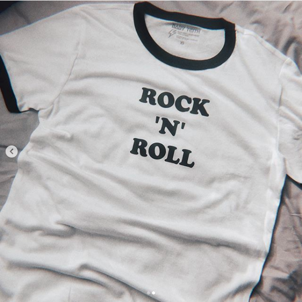 Rock N Roll Unisex Ringer Tee for Adults - LIMITED EDITION