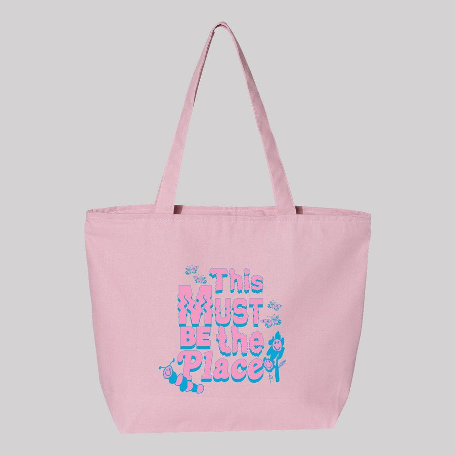 This Must Be The Place Jumbo Canvas Tote