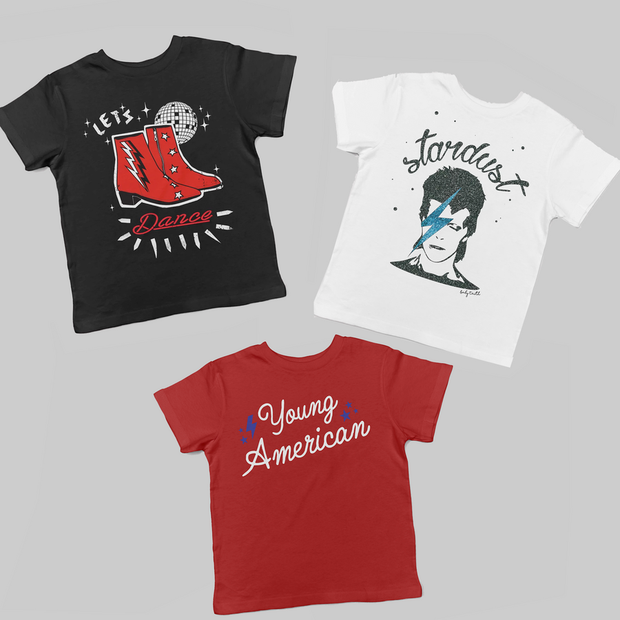 Little Bowie Fan Gift Set