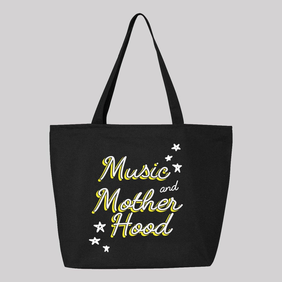 Music and Motherhood Canvas Tote Bag