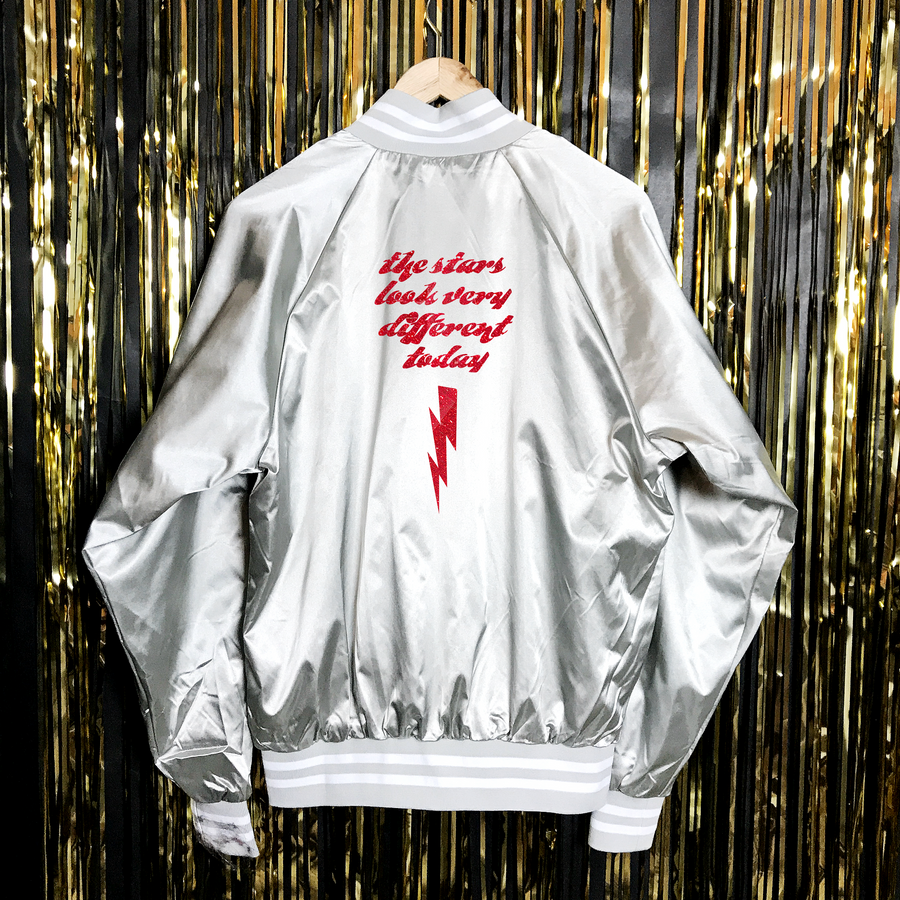 Electric Satin Unisex Jacket