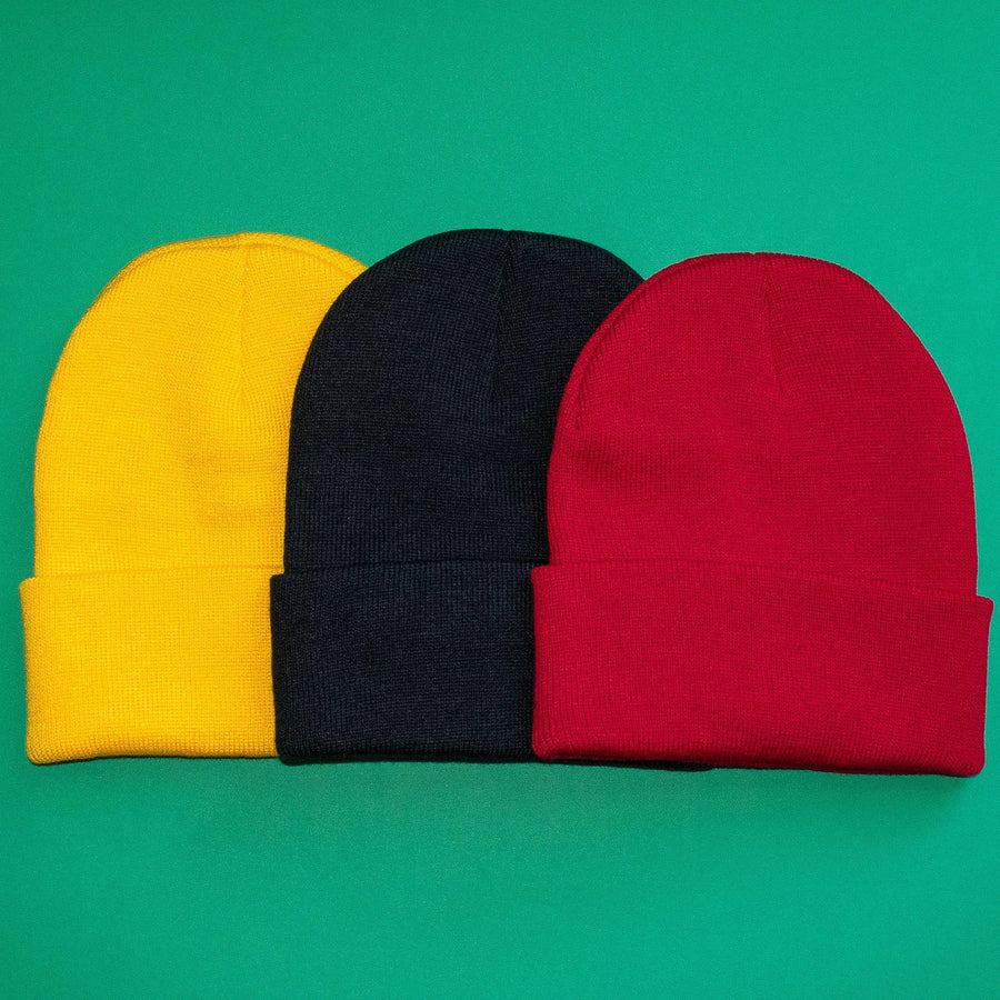 Knit Hat 3-Pack in Fall Colors