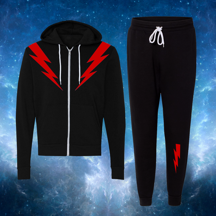 Cosmic Track Suit - Black