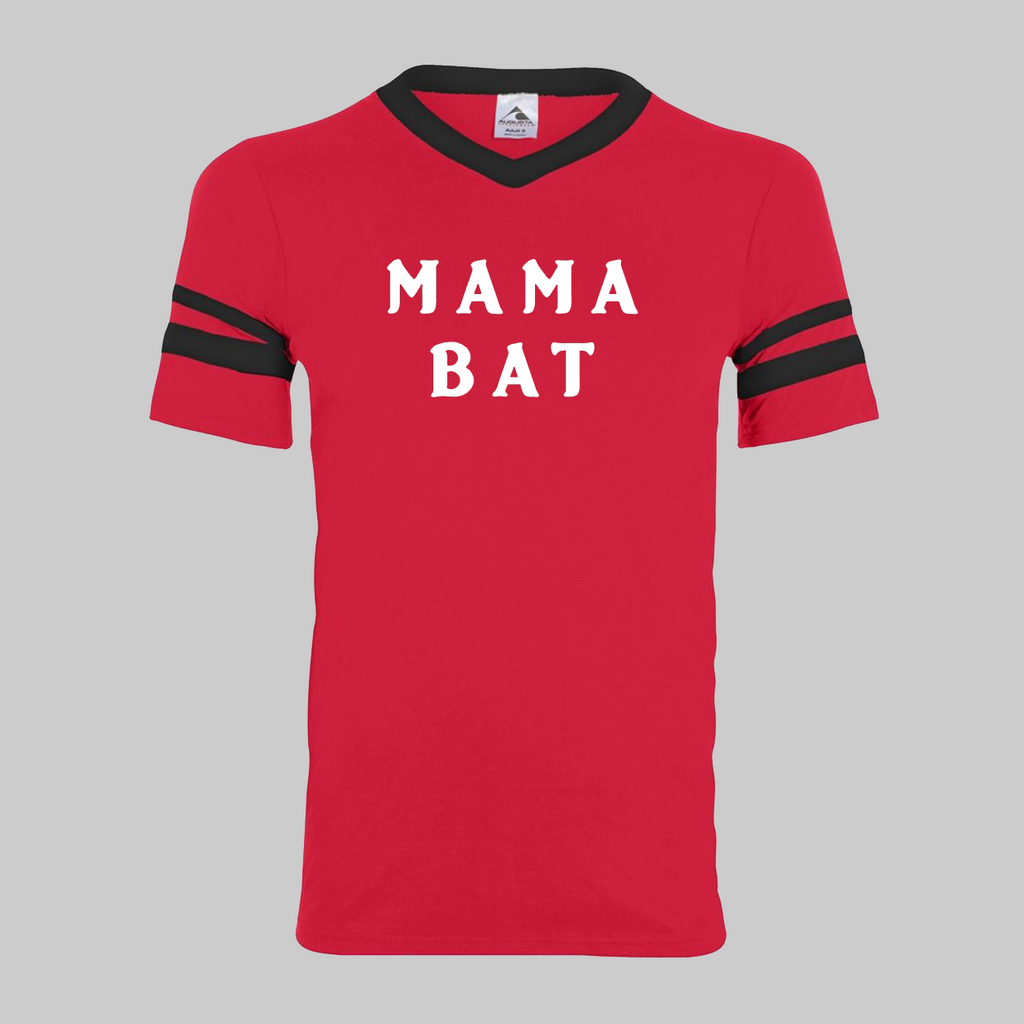 Mama Bat Football Tee (2 colors)