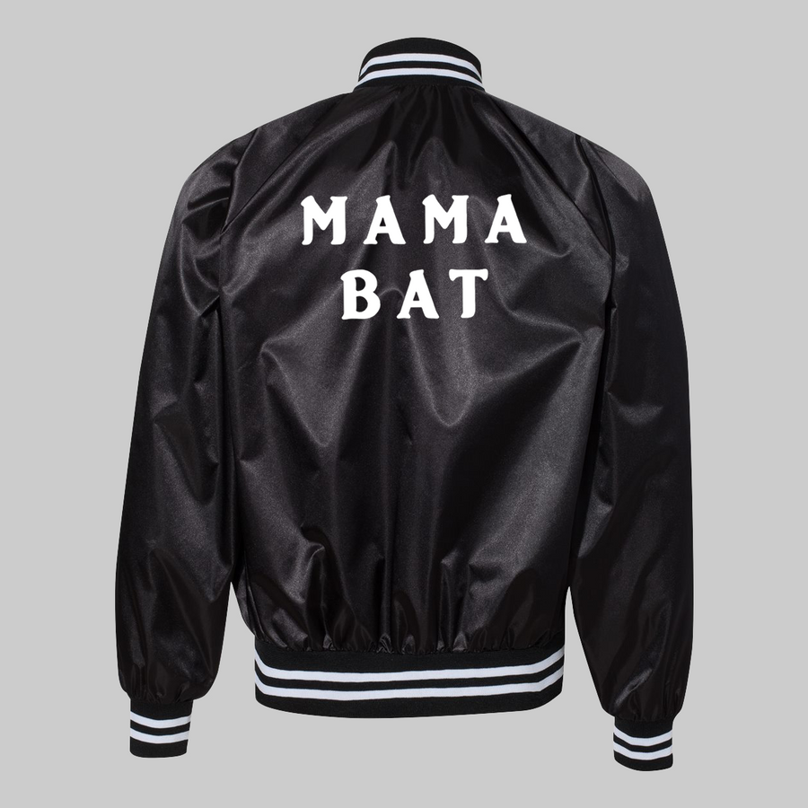 Mama Bat Satin Jacket