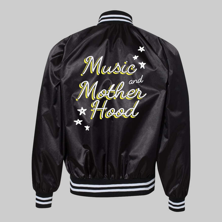 Music and Motherhood Satin Jacket