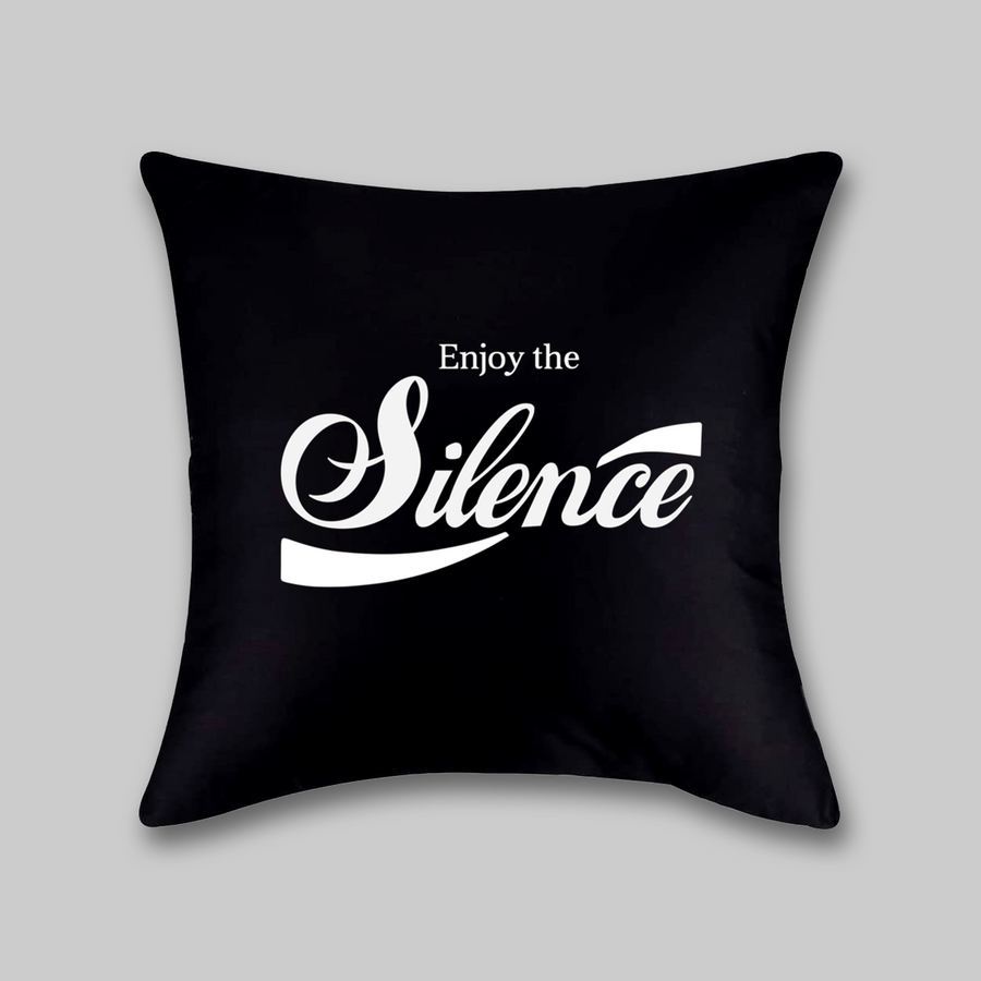 Enjoy the Silence Pillow