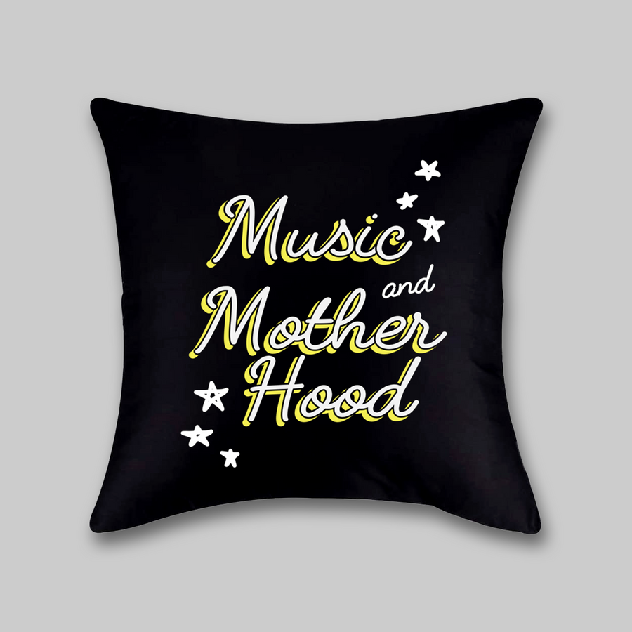 Music and Motherhood Pillow