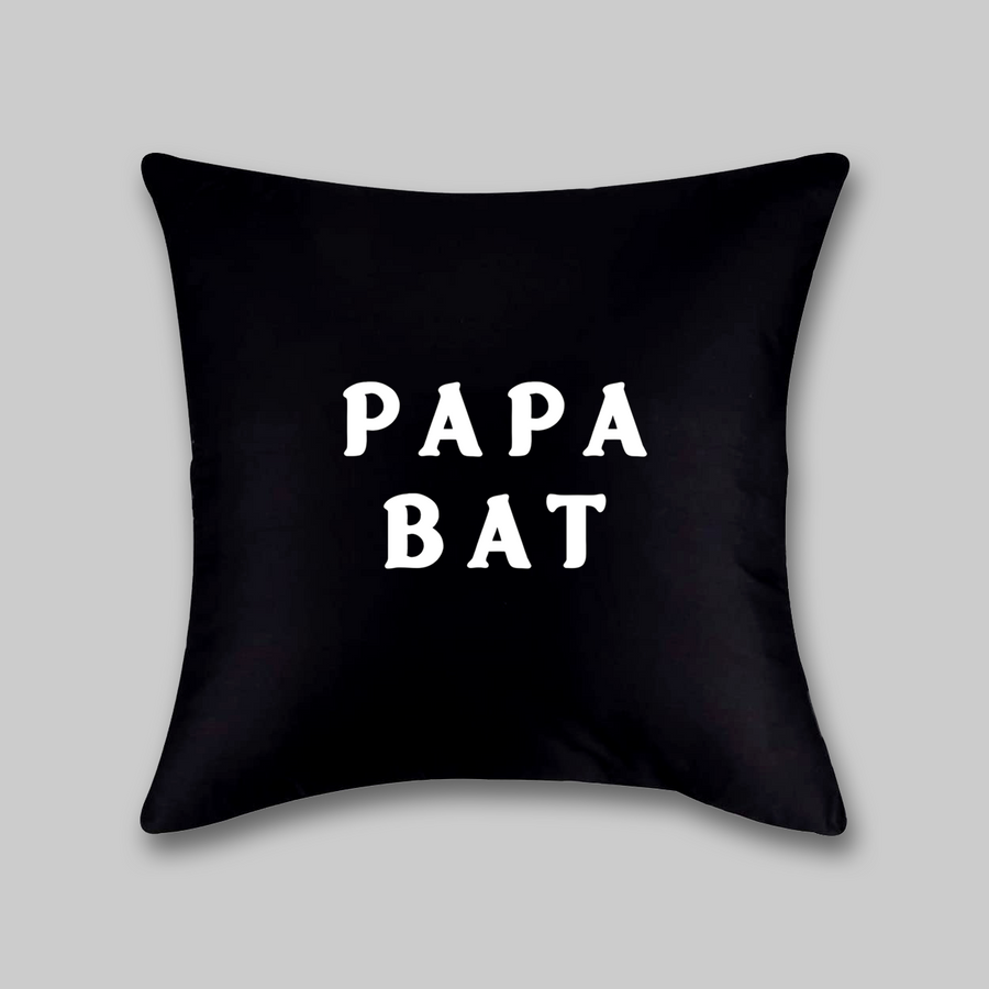 Papa Bat Pillow