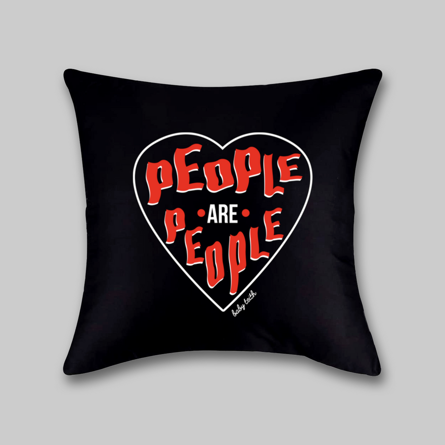 People Are People Pillow