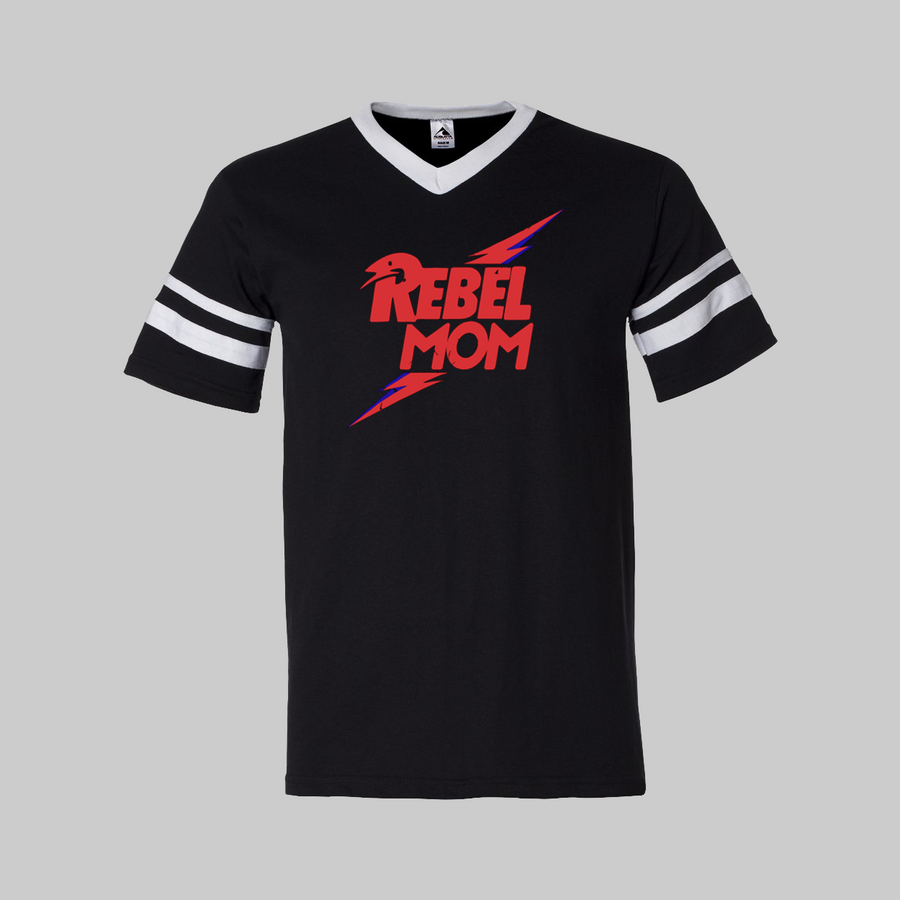 Rebel Mom Football Tee (2 Colors)