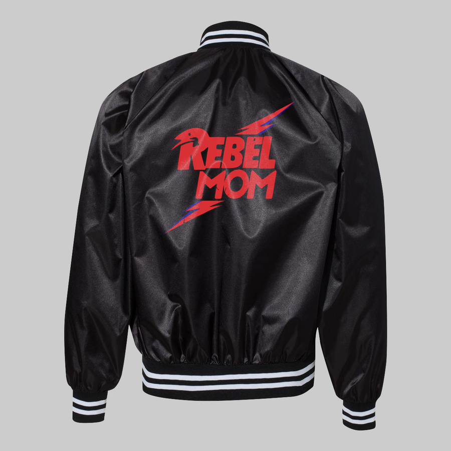 Rebel Mom Satin Jacket