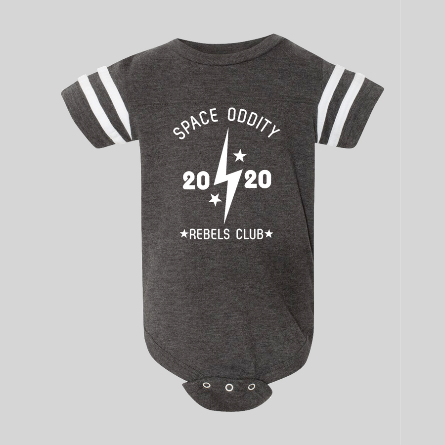 Space Oddity Rebels Club Baby Bodysuit