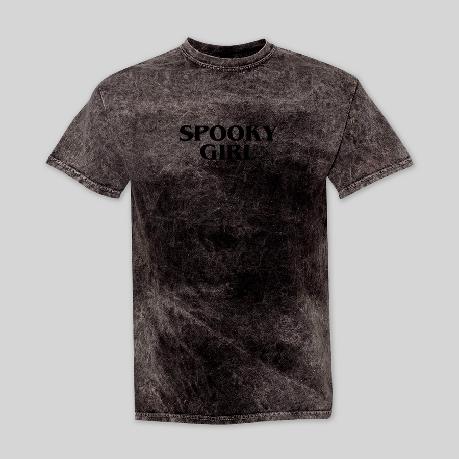 Spooky Girl Stone Washed Tee