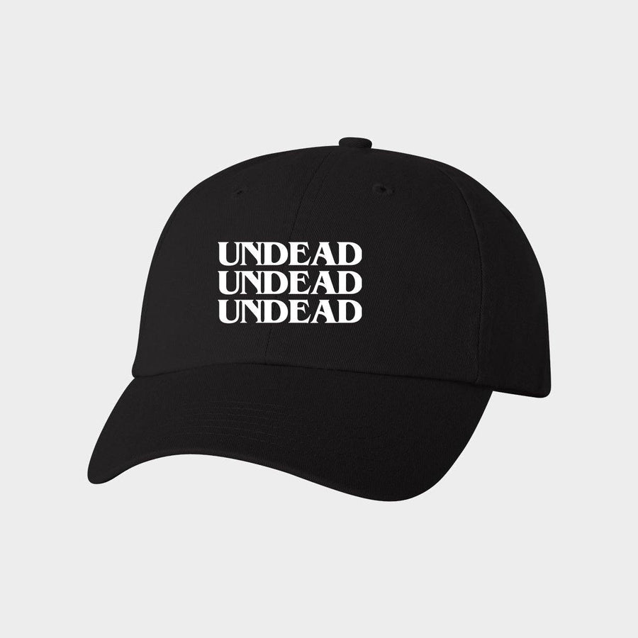 Undead Canvas Baseball Hat for Adults