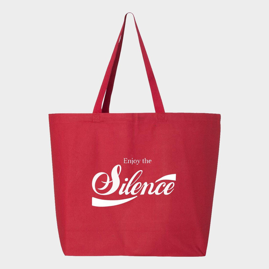 Enjoy the Silence Canvas Tote Bag