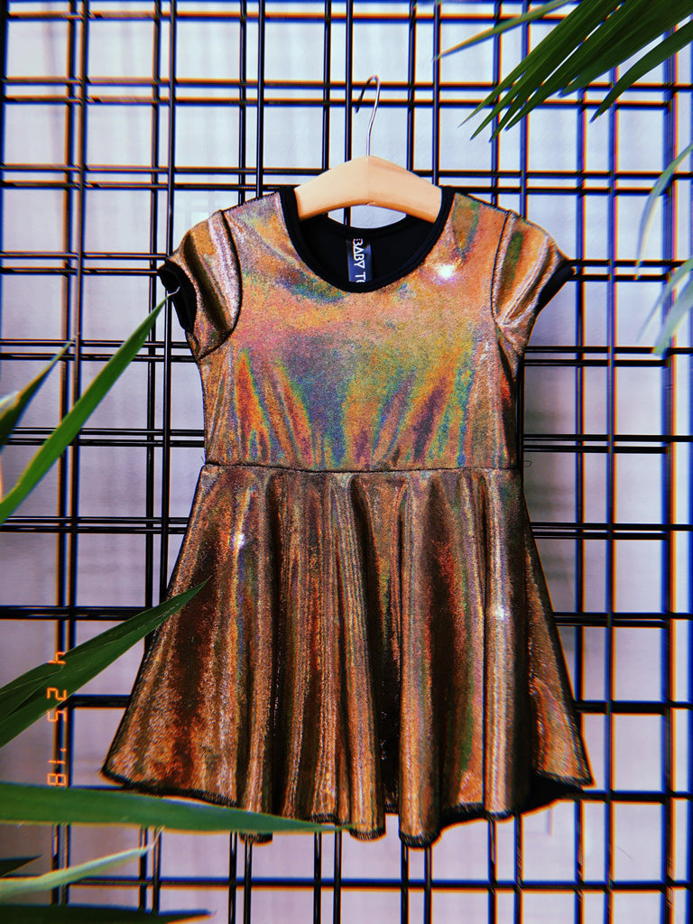 The Golden Years Skater Dress for Girls