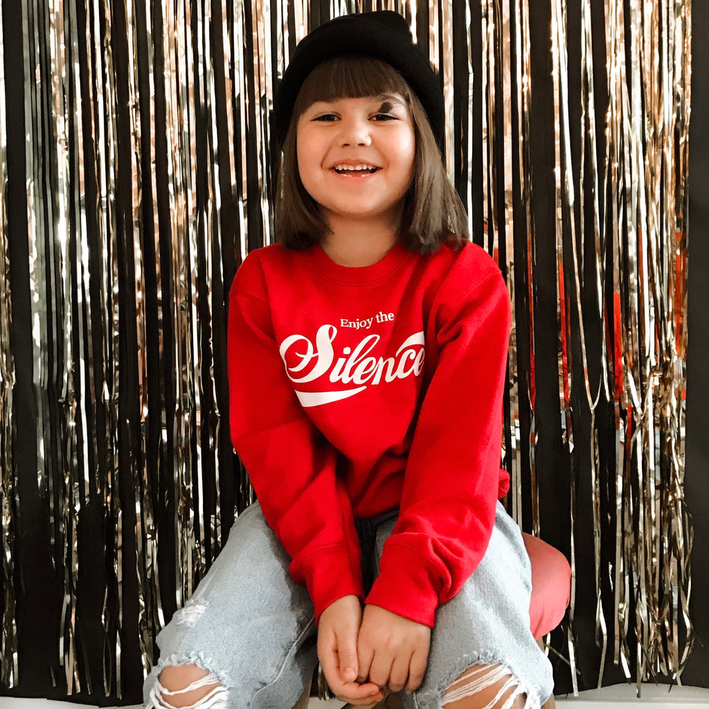 Enjoy The Silence Sweatshirt for Kids