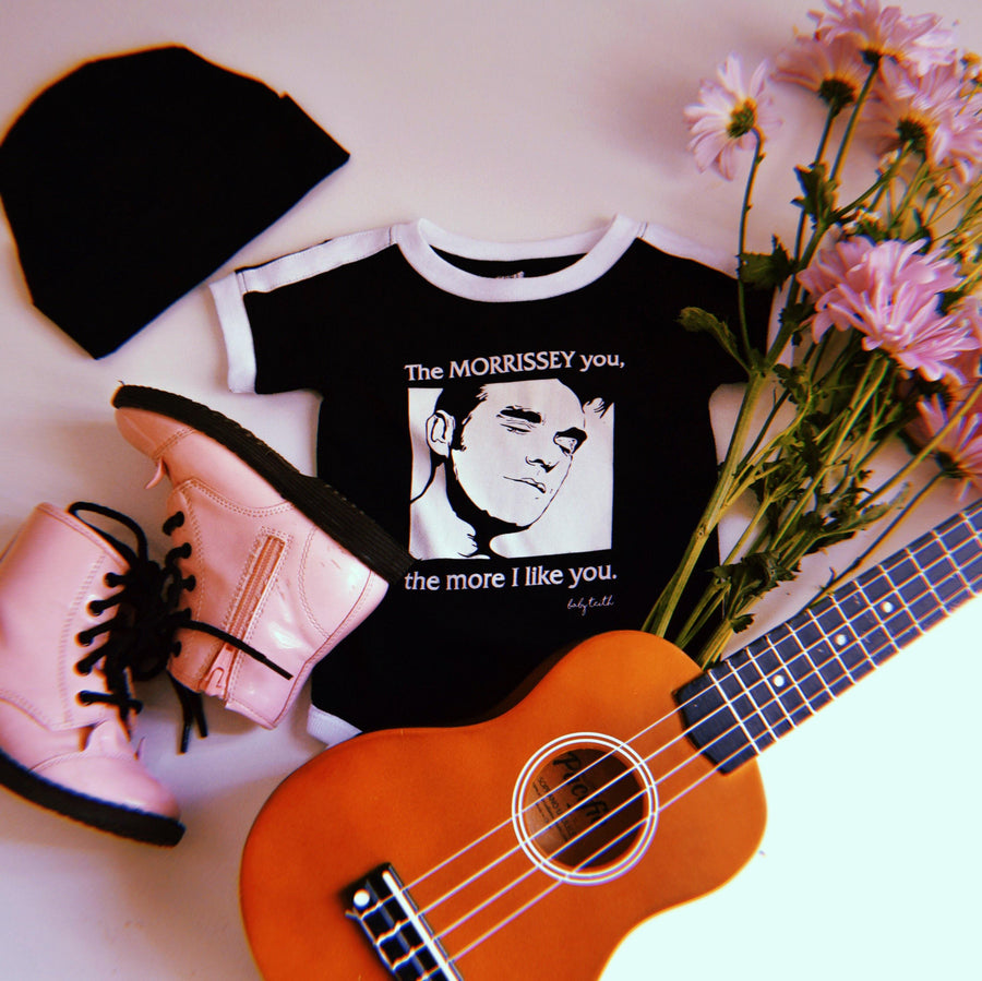 """The Morrissey You"" Baby Bodysuit Gift Set"