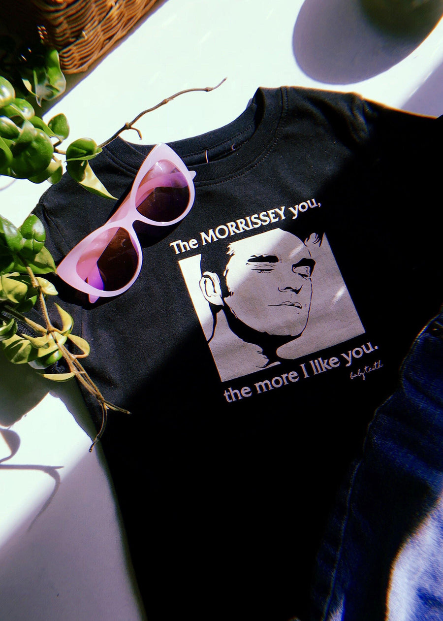 """The Morrissey You the More I like you"" Tee for Big Kids"