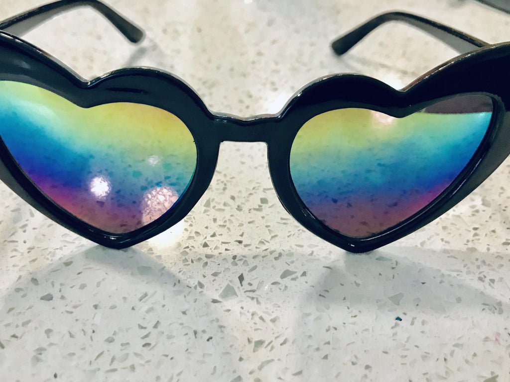Heart Shaped Sunnies for Kids - Baby Teith
