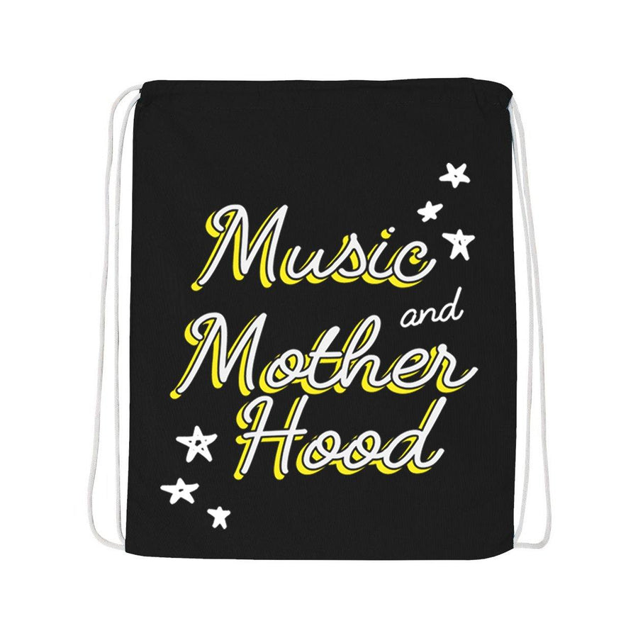 Music and Motherhood Drawstring Rucksack