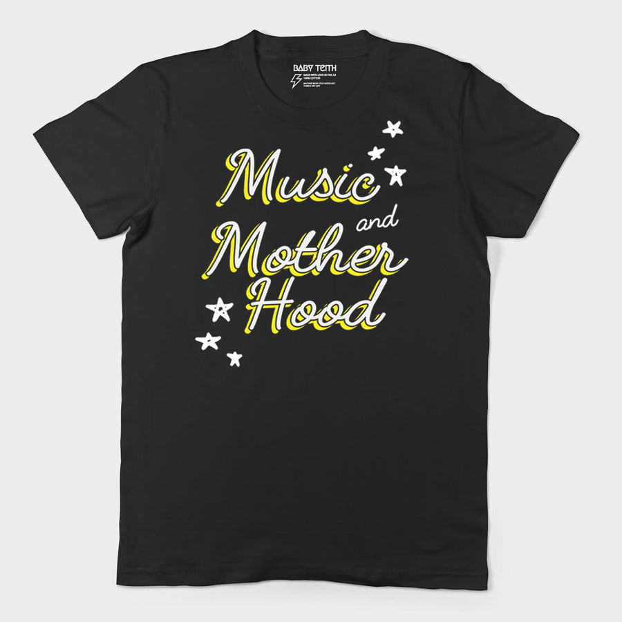 Music and Motherhood Tee - Front Print
