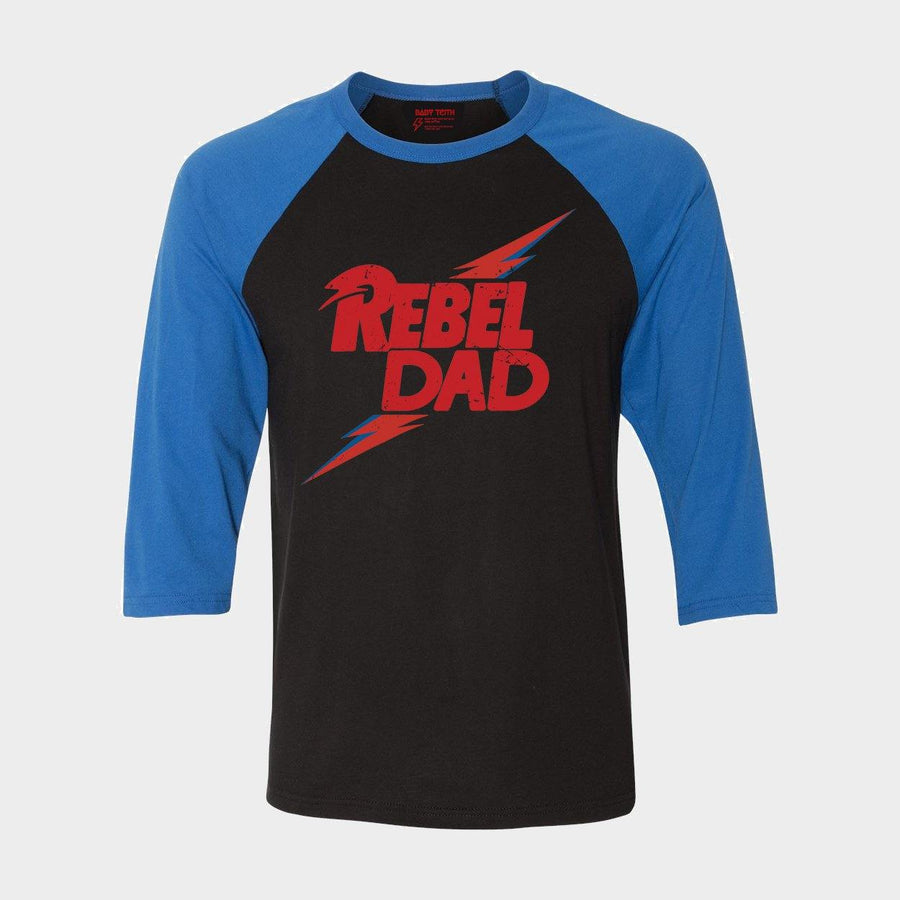 Rebel Dad Raglan - Unisex Fit (3 Colors)