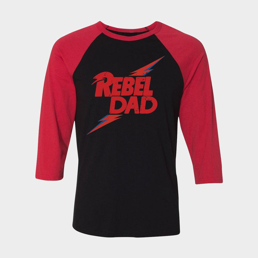 Rebel Dad Raglan - Unisex Fit (3 Colors) - Baby Teith