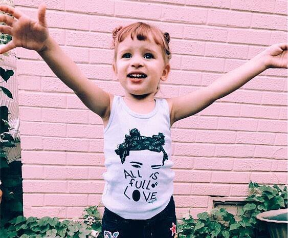 """All is Full of Love"" Tank for Kids"