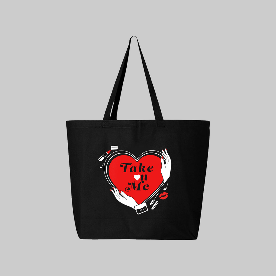 Take on Me Tote Bag
