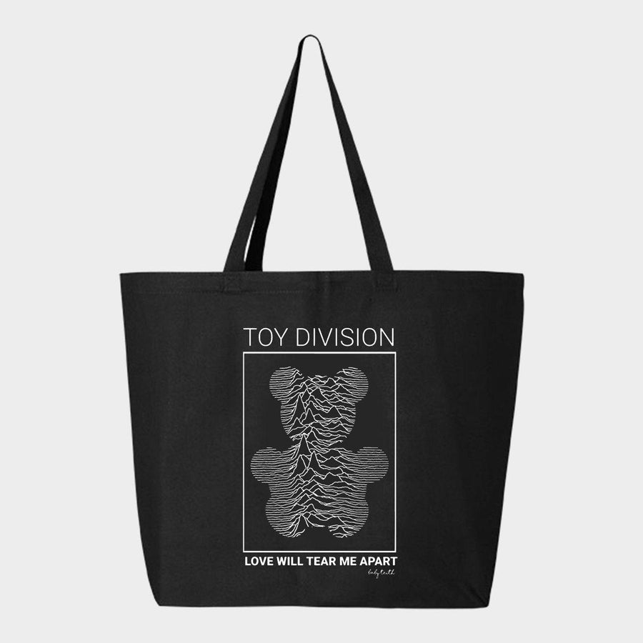 Toy Division Canvas Tote Bag - Baby Teith