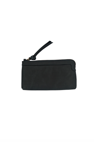 Berlin Leather Clutch Wallet<br>French Navy