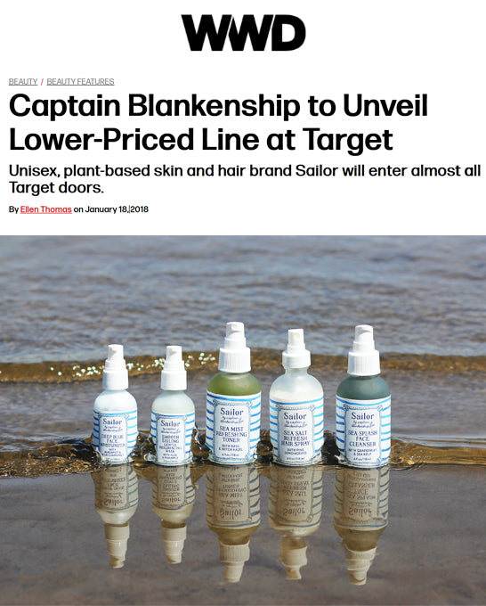 Captain Blankenship to UnVeil Lower-Priced Brand at Target