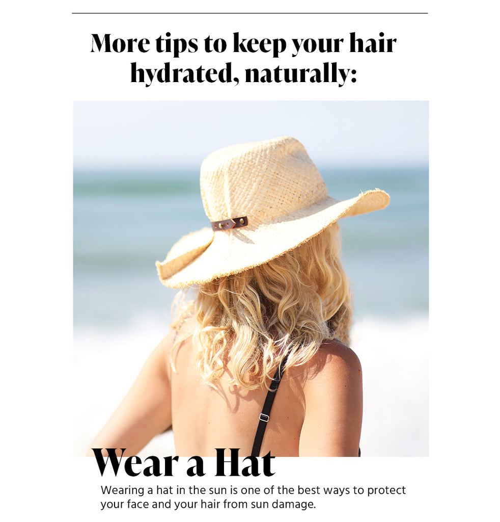 Wear a Hat to Protect from Sun Damage