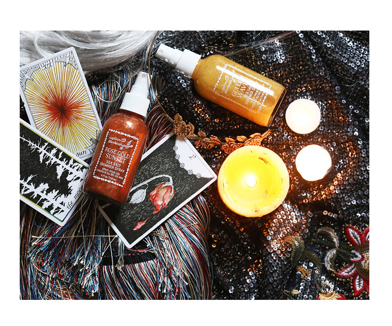 shimmer spray a natural alternative to hair dye this halloween