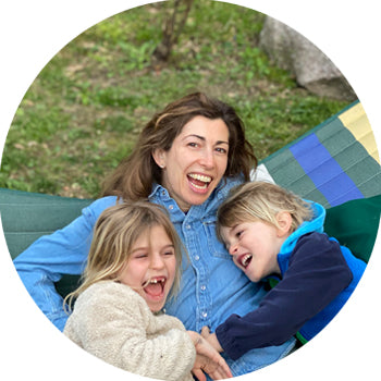 Jana Blankenship with her children