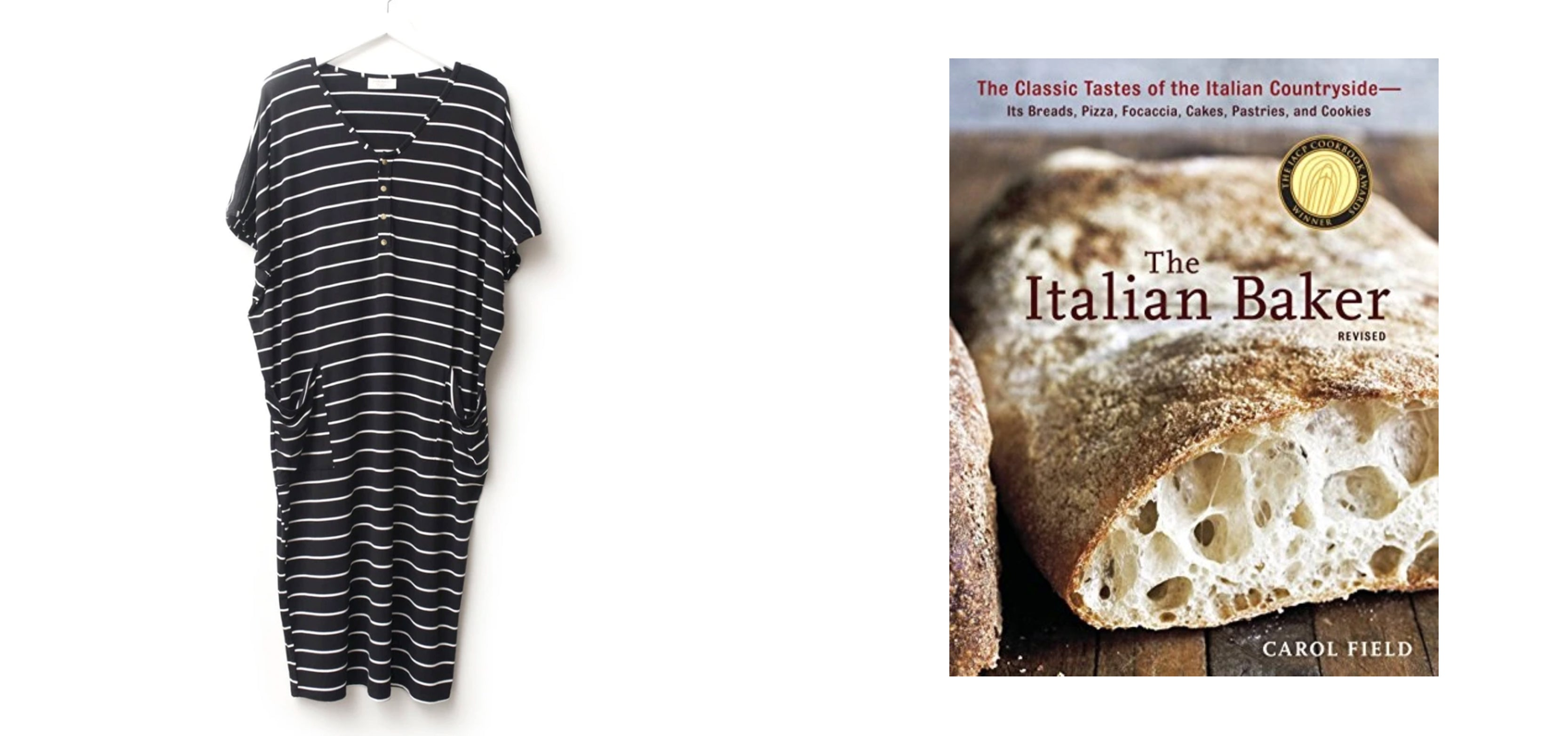 Dwell and Slumber Nightgown, The Italian Baker, Carol Field.